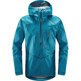 Haglöfs M's L.I.M Mountain Proof Anorak Mosaic Blue/Slate